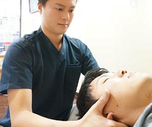 岸和田市Win鍼灸整骨院G鍼灸整骨院の寝違え施術