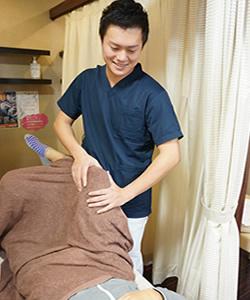 岸和田市で膝の痛み施術