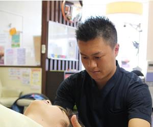 岸和田市で頭痛の痛み施術